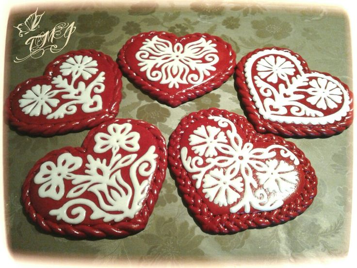 Valentine's day cookies by TMJcreative.