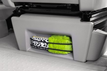 Clamping System for seat console