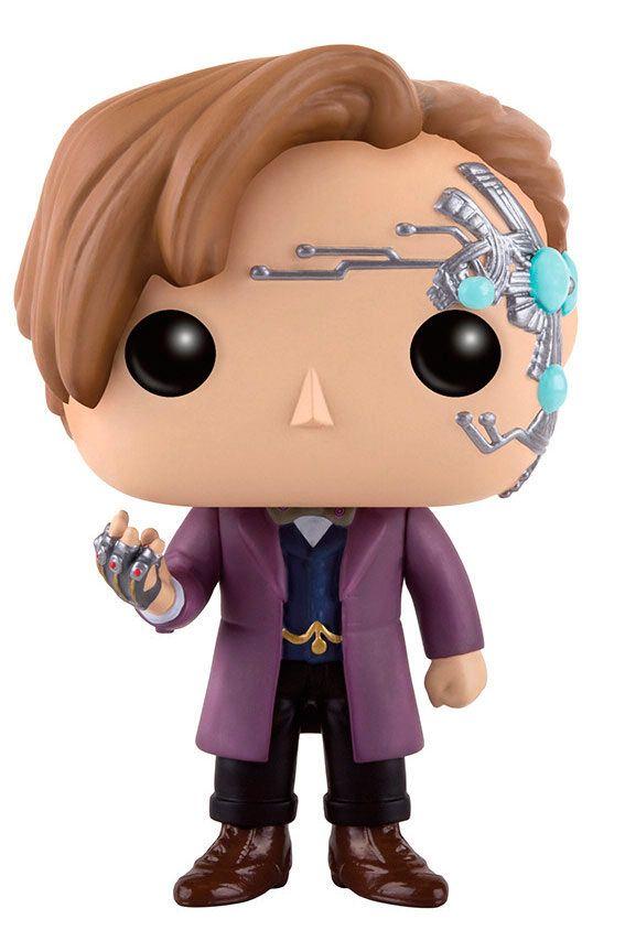 Cabezón 11º Doctor (Mr. Clever) 9 cm. Dr. Who. Línea POP! Television. Funko  Estupendo y simpático cabezón del personaje 11º Doctor (Mr. Clever) de 9 cm, uno de los personajes de la exitosa serie de TV el Dr. Who. Un fantástico cabezón fabricado en vinilo y por supuesto 100% oficial y licenciado.