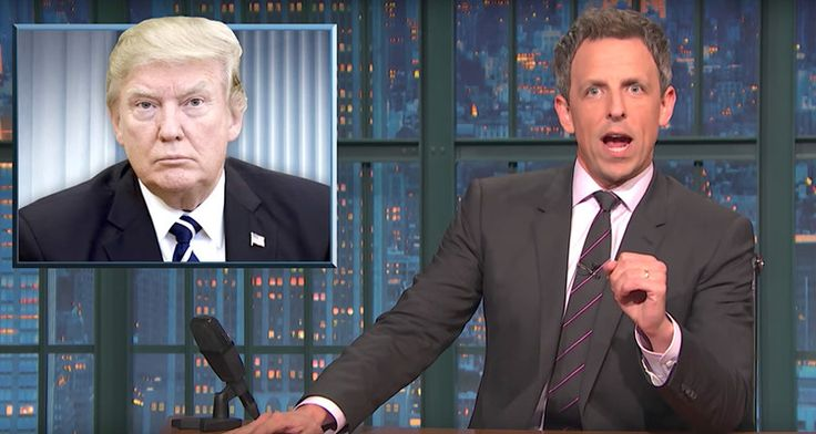 Seth Meyers Dissects Donald Trump's Support Of Private Prisons