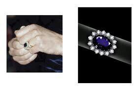 El anillo que más me gusta el de la princesa de inglaterra por su compromiso con el príncipe Guillermo