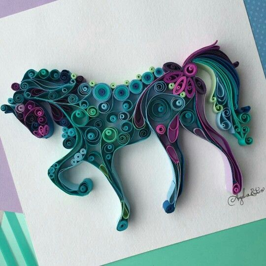 Quilled Paper Art by?