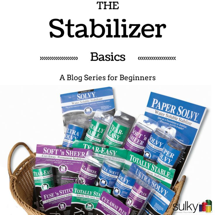 Stabilizer Basics from @sulkythreads | Why Do you need Stabilizer