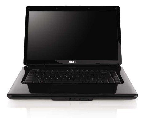 Dell Inspiron 1545 15.6-Inch Jet Black Laptop - Up to 4 Hours 34 Minutes of Battery Life (Windows 7 Home Premium...