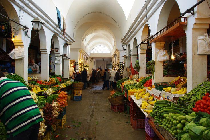 Un marché en Tunisie
