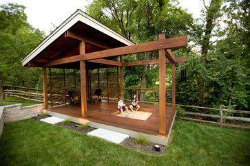 Outdoor Living - Symmes - modern - porch - cincinnati - Ryan Duebber Architect, LLC