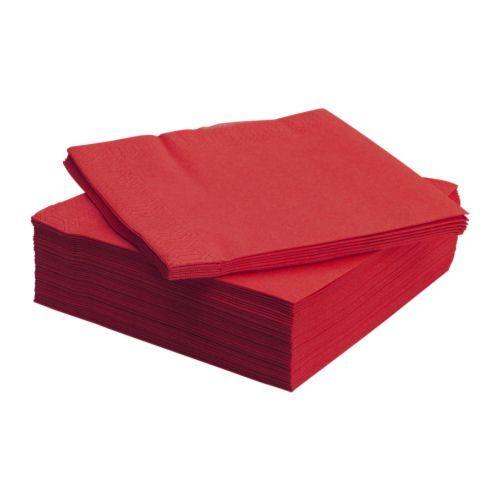 FANTASTISK Papieren servet IKEA Het servet heeft een goed absorberend vermogen: 3-laags papier.