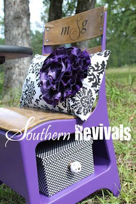 Southern Revivals: School Days, School Days ~ Desk Revival