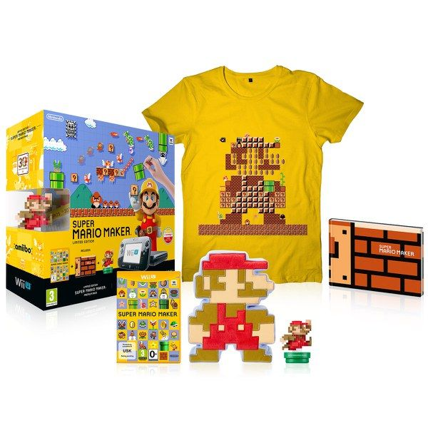 super mario maker wii u premium pack includes the wii u