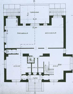 Adolf Loos. Steiner House. Vienna. 1910 #architecture #vienna