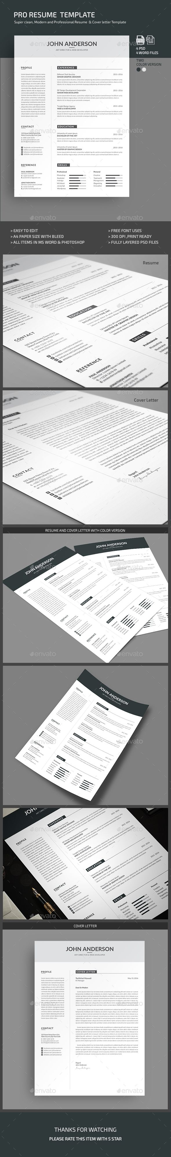 273 Best Resume Design Images On Pinterest Resume Templates Cv