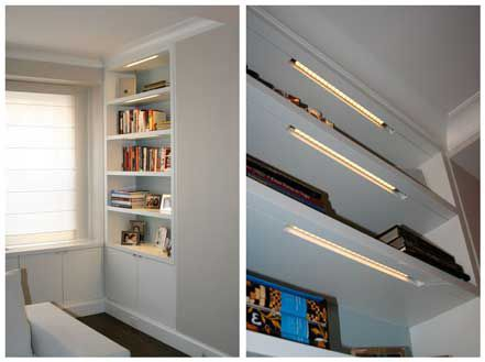 19 5 Led Under Cabinet Street Light Fixtures Warm White