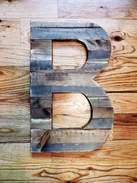 Best 25 rustic letters ideas on pinterest letters with for Large wooden letter patterns