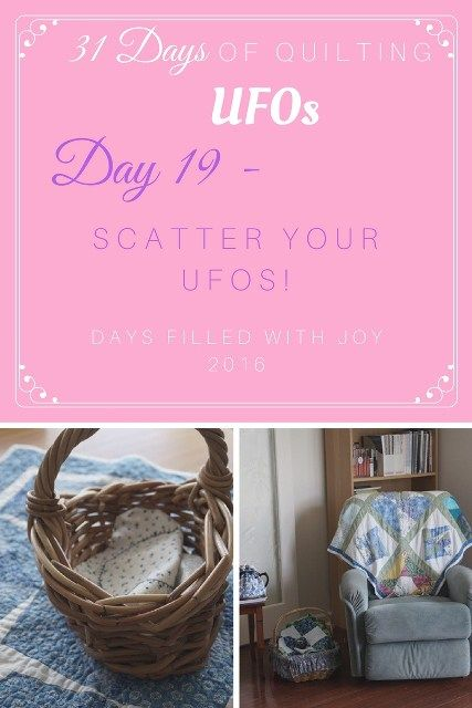 Day 19 Scatter Your UFOs