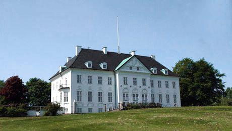 Marselisborg Slot. Århus.