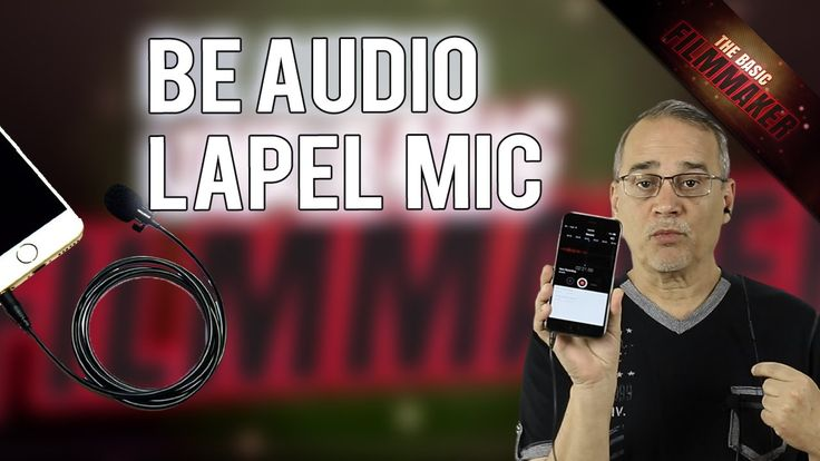 """$28 Be Audio Lapel Mic - Basic Filmmaker Ep 193. I keep getting asked """"What is the cheapest sound recorder and microphone?"""" Although you're NOT going to get $1000 sound out of $30 equipment, this Be Audio Lapel Mic might work for you if you've got a phone and $28."""