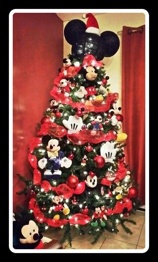 Our 2015 Mickey Mouse Christmas tree