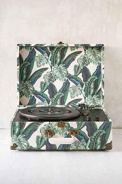 Crosley X UO AV Room Palm Portable USB Vinyl Record Player - Urban Outfitters