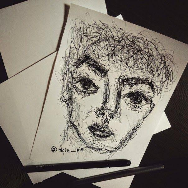 left-hand art