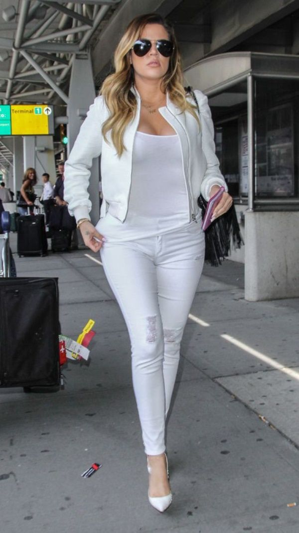 Complete White on White Outfits For This Summer0011