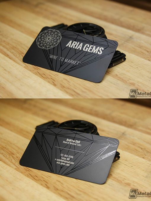 19 best business card ideas images on pinterest business cards black metal design by my metal business card reheart Gallery