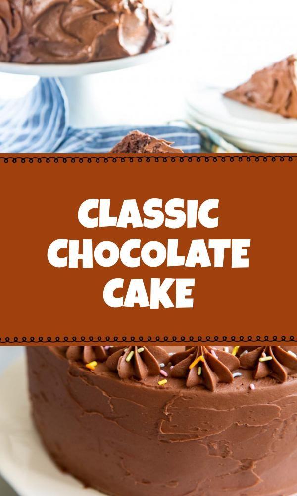 Healthy Classic Chocolate Cake Di 2020 Resep Kue Kue Kue Cokelat