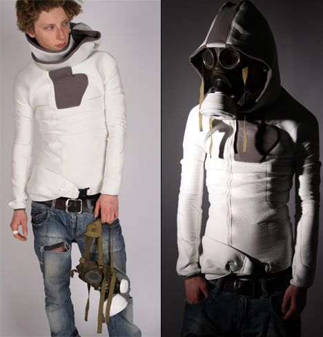 Urban Kevlar Security Suit: Gas Masks, Fashion, Clothes, Cyberpunk Style, Suits, Post Apocalypse, Security Suit, Urban Security, Post Apocalyptic