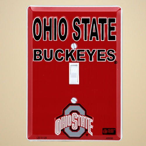 5 29  8 00 Baby Ohio State Buckeyes Metal Light Switch Cover   Decorate your room with. 1000  images about Osu bathroom ideas on Pinterest   Bedroom boys