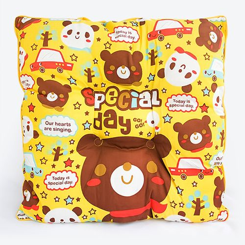 [Special Day   Bear] Chair Seat Cushion / Chair Pad (15.8 By 15.8