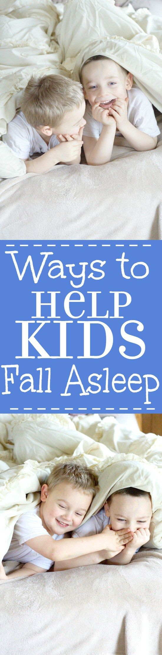 Ways to Help Kids Fall Asleep easier at night, and go to bed without a…