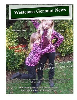 Westcoast German News - February Edition
