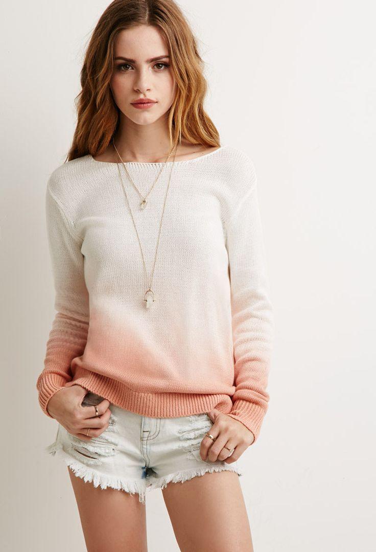 Dip-Dye Sweater   Forever 21 - 2002247335