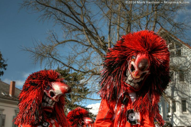 "Carnival (or ""Fasnacht"" as it is known in the Alemmanic tradition of south west Germany) in Müllheim. For more images of scary carnival masks see http://fstop-mark.com/fasnacht"