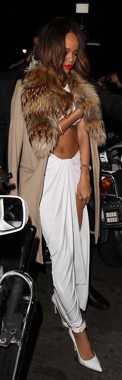 Rihanna 2013 Grammys after-party