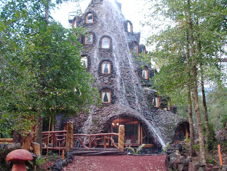 Montaña Mágica Lodge, Huilo-Huilo Biological Reserve, Chile. Host of the 10th Latin American Congress of Private Nature and Indigenous Reserves.