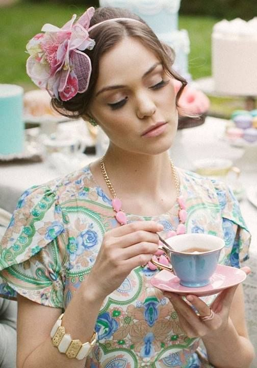 Summer Tea Time ~ Ana Rosa