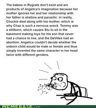 Rugrats explained.