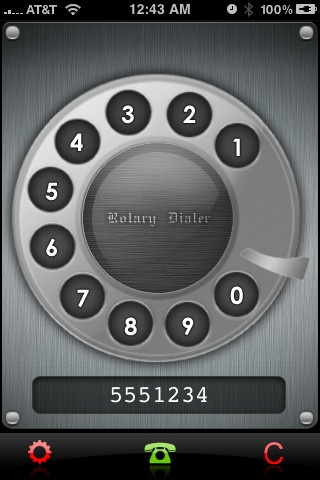 Rotary Dialer iPhone application - AppStoreHQ