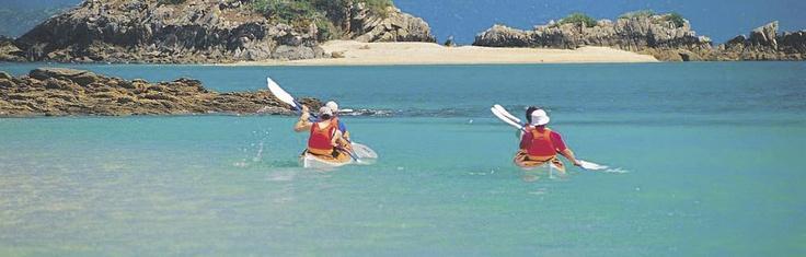 Adventure Kayak Tour | Whitsunday Islands | Hamilton Island