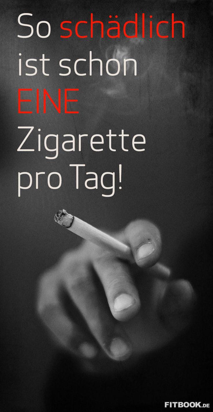 So schädlich ist schon EINE Zigarette pro Tag! – FITBOOK