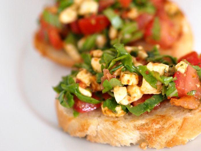 Rezept Buschetta pomodore mozzarella