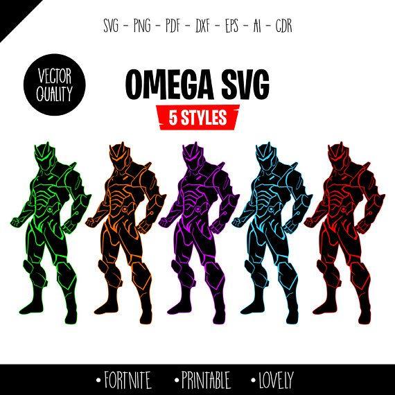 Fortnite Omega Omega Svg Png 5 Style Fortnite Svg Fortnite Print Fortnite Shirt Fortnite Silhouette Season 4 Instant Dow Svg Fortnite Comic Book Cover