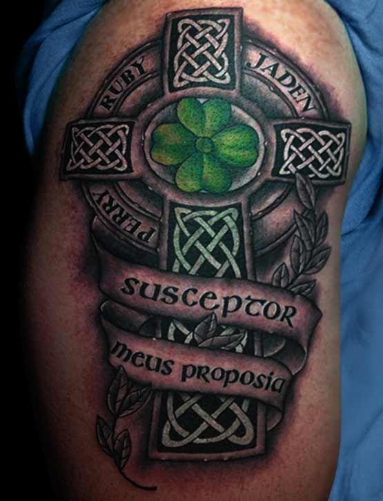 Amazing Celtic Cross Tattoos Full Tattoo Full Tattoo Pinterest