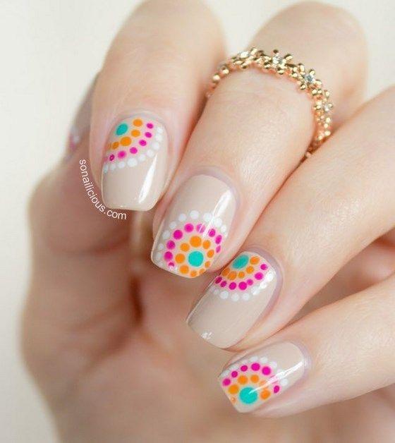 diseños de uñas naturales juveniles paso a paso - Buscar con Google