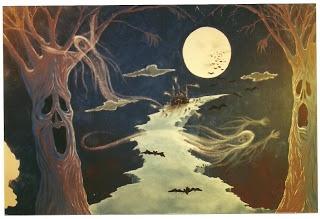 Halloween Mural, Scary fun!