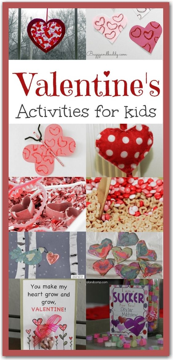 286 best images about St. Valentine crafts for kids & food ...