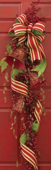 Adornos navide os para la puerta navidad pinterest - Adorno puerta navidad ...