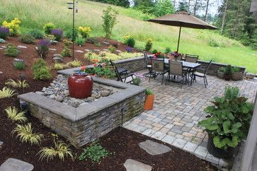 Interesting Maybe Continue Brick Retaining Wall On Patio
