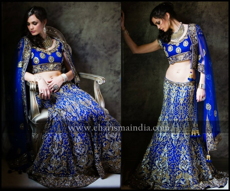finally found a pic of the full lengha. Charisma Designer Studio  http://www.charismaindia.com/