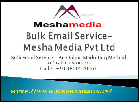 Delhi NCR Based bulk email service provider company.Grab your business using the help of email panel.